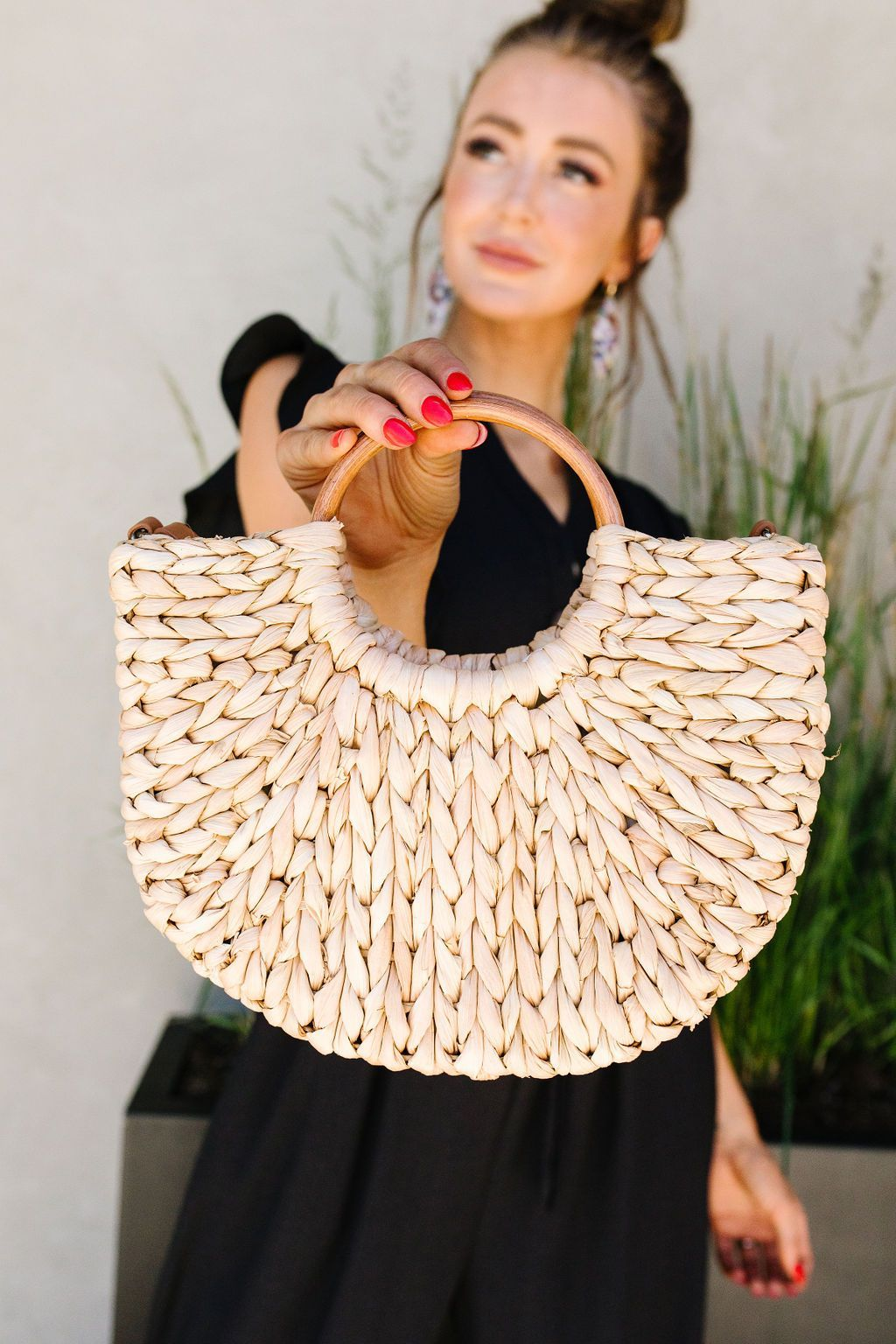 Final Straw Braided Bag - BeeLovely Boutique