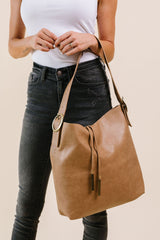 Golden Tassel Hobo Bag