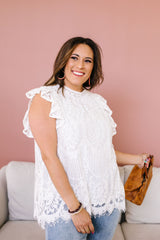 Sweet Sophisticate Lace Blouse