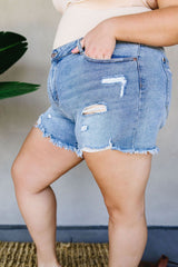 Torn & Tattered Cutoff Shorts - BeeLovely Boutique