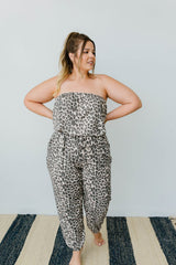 Wild N Free Tube Top Jumpsuit - BeeLovely Boutique