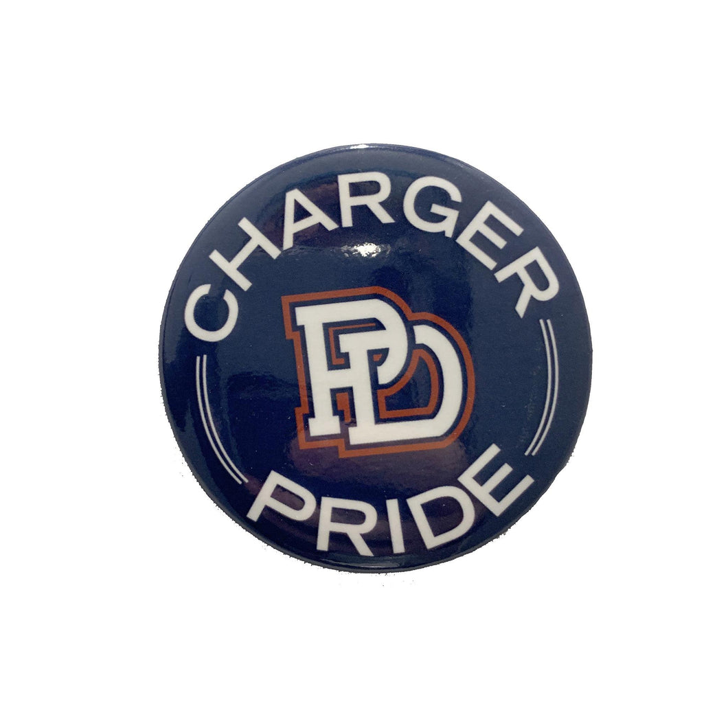 Button - Charger Pride