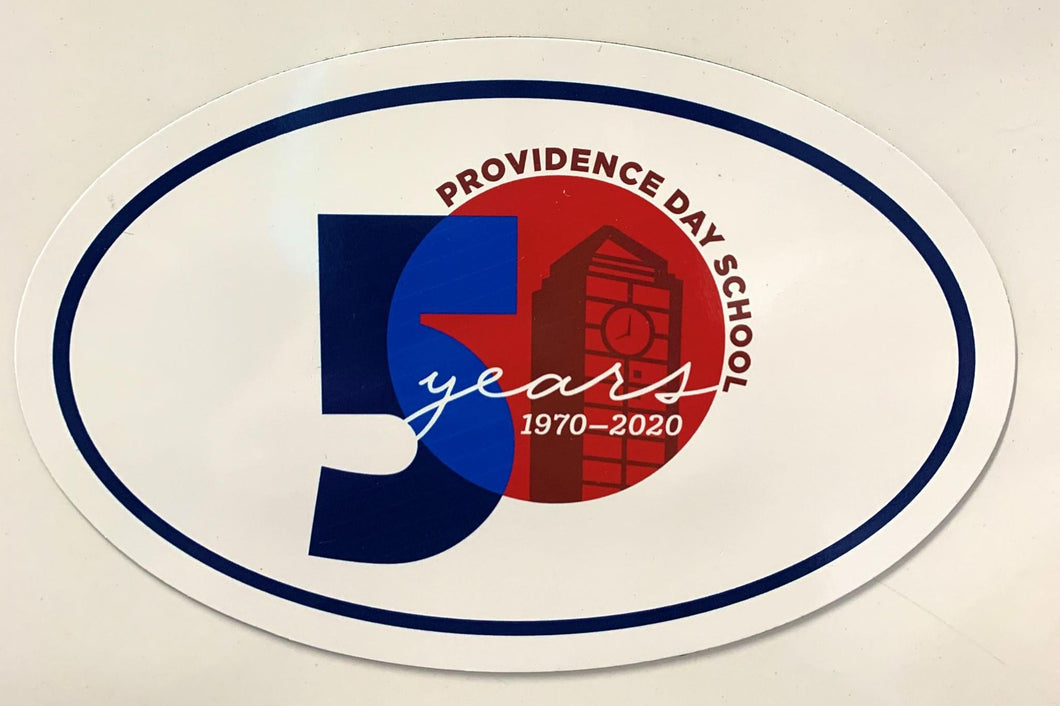 Magnet - Oval - 50th Anniv.