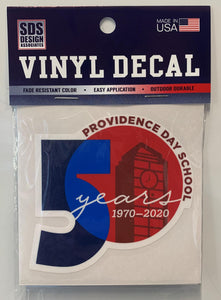Decal - 50th Anniv.