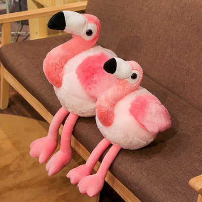 Grosse Peluche Flamant rose 65 cm