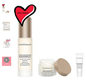 Holiday bareMinerals Skinlongevity trio