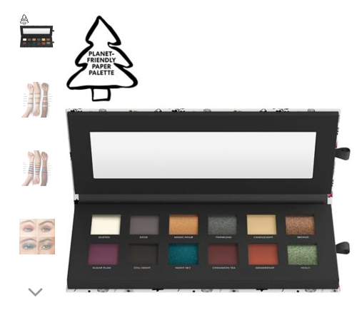Holiday bareMinerals eyeshadow palette