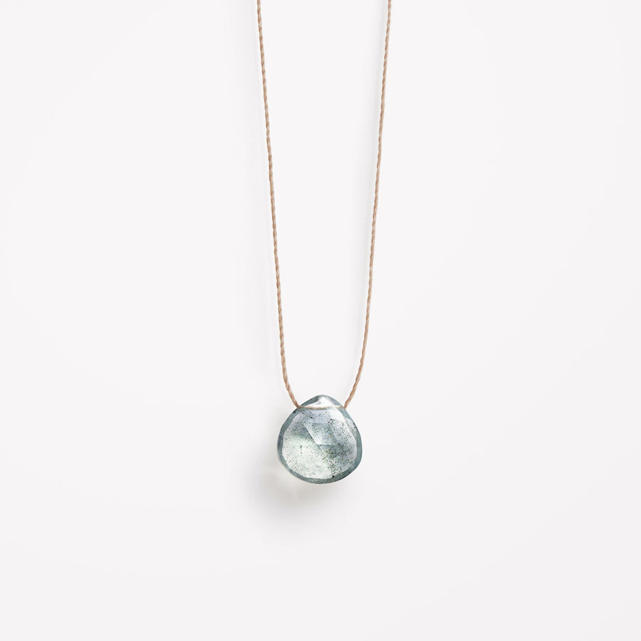 March Birthstone Necklace | Aquamarine