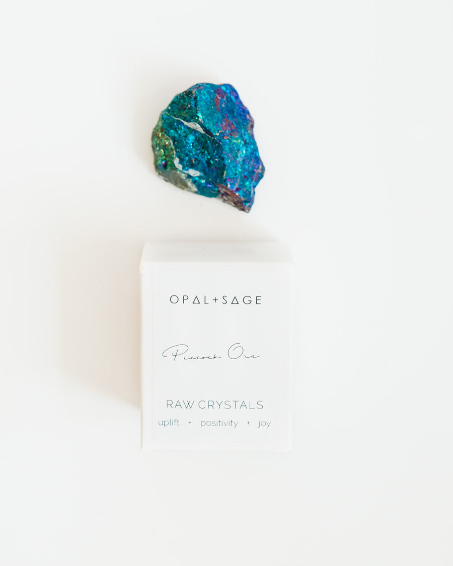 Raw Crystal | Peacock Ore
