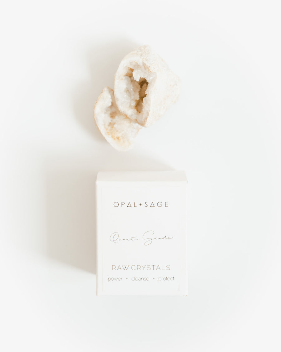 Raw Crystal | Quartz Geode