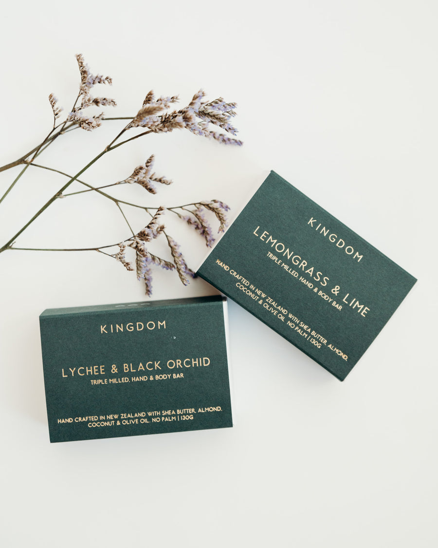 Kingdom Body Bar | Lemongrass and Lime