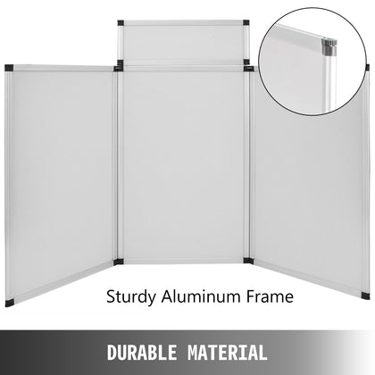 60x90 Room Divider Scrim Metal Frame Booth Display Backdrops With Travel Bag