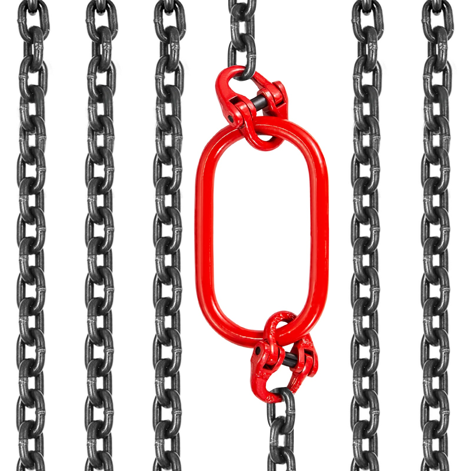 4m Double Leg Lifting Chain Sling Grade 80 Wll 2.6t Long Service Life