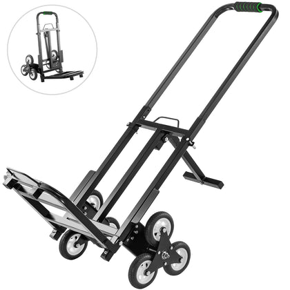 Enhanced Stair Climbing Cart Portable 460 Lb Capacity Terrain Hand Truck