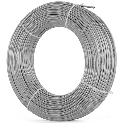76m Stainless Steel Cabel 3.2mm Wire Rope Cable 7x7