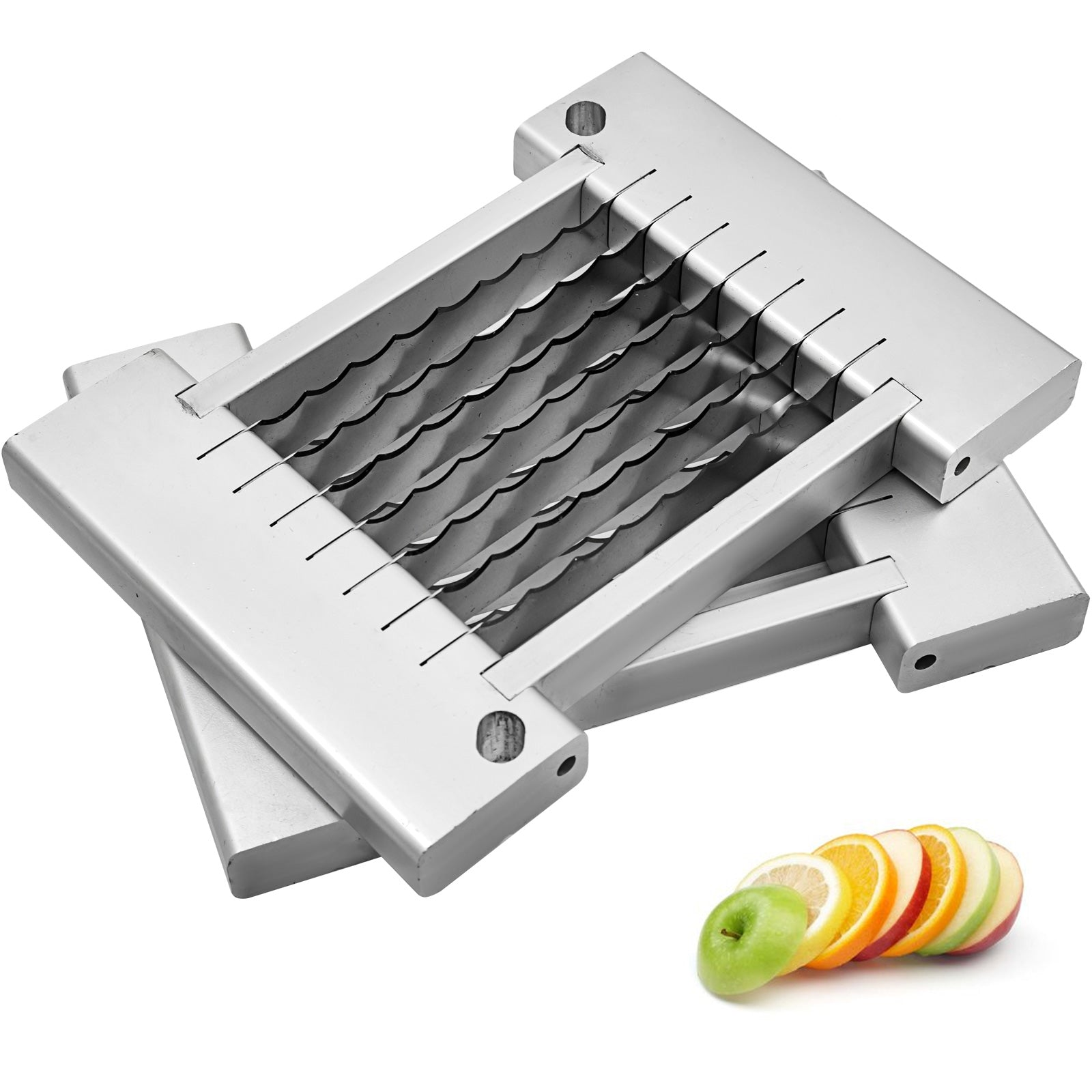"1/4"" Steel Blades Tomato Slicer Onion Cutter Vegetable Dicer Manual Cutting"