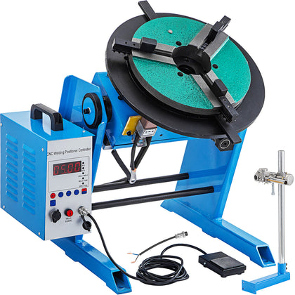 Welding Rotary Positioner Rotary Table Welding 100/50kg Adjustable Welding Table