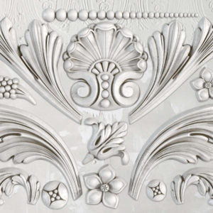 IOD - Iron Orchid Designs - Silicone Decor Mould - Acanthus Scroll - 6