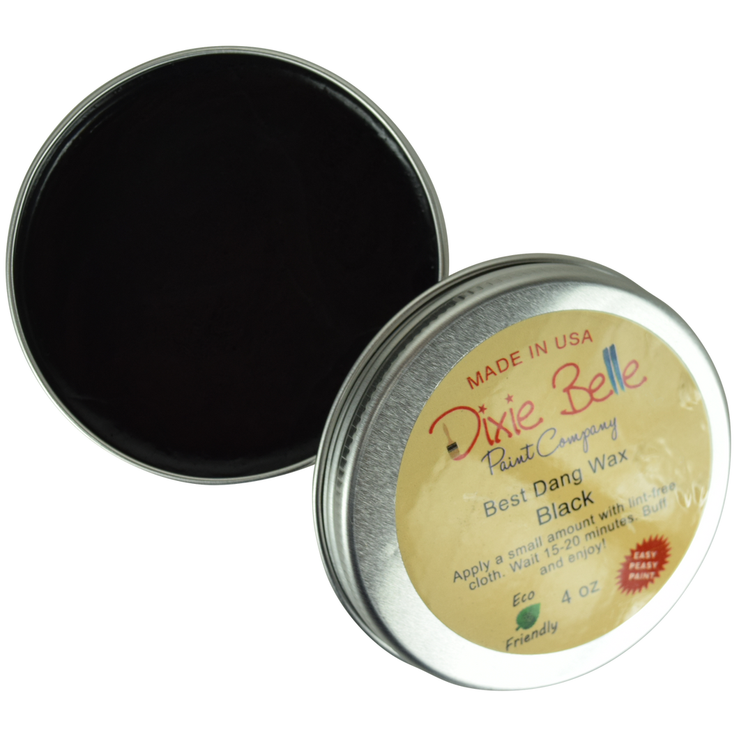Dixie Belle Best Dang Wax - 4 oz.  BLACK -NEW
