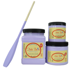 Dixie Belle LUCKY LAVENDER CHALK MINERAL PAINT - New