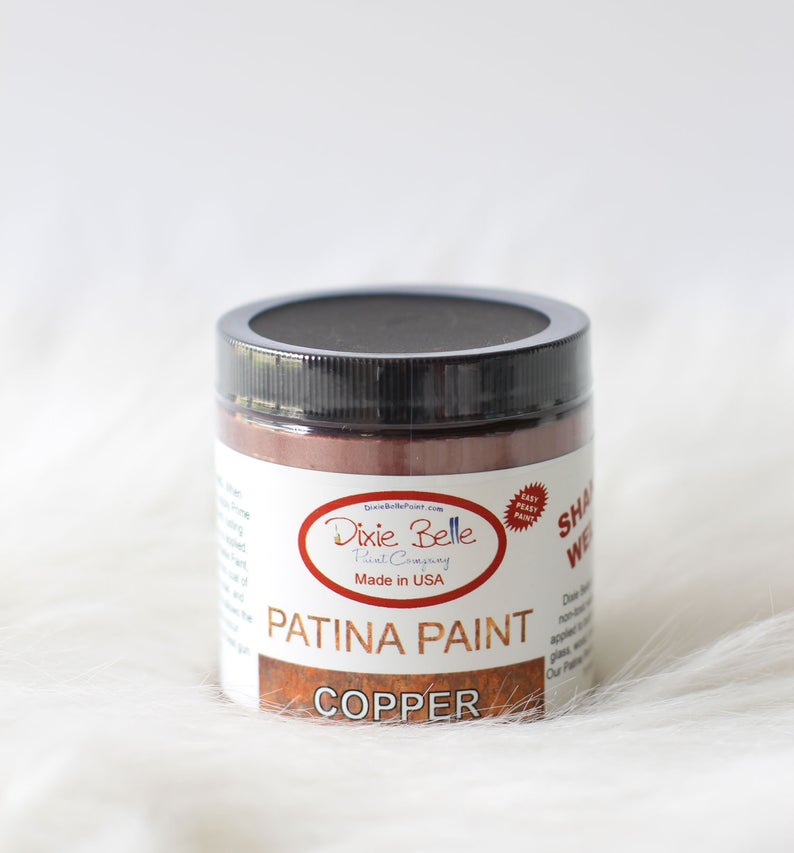 Dixie Belle PATINA PAINT - COPPER -  8 oz. - NEW
