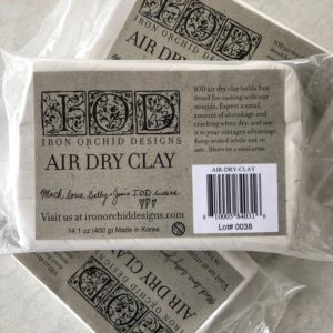 IOD - Iron Orchid Designs - Air Dry Clay