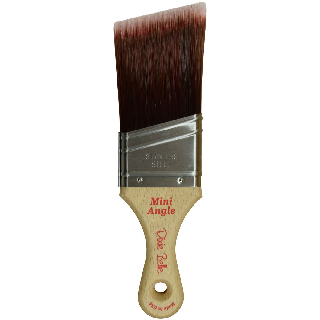 Dixie Belle Paint -  Mini Angle Synthetic Brush