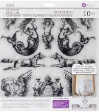 IOD - Iron Orchid Designs - Decor Stamp - Fantastico - 1st Generation - Retired