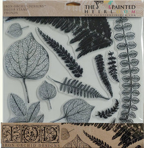 IOD - Iron Orchid Designs - Decor Stamp - Fronds