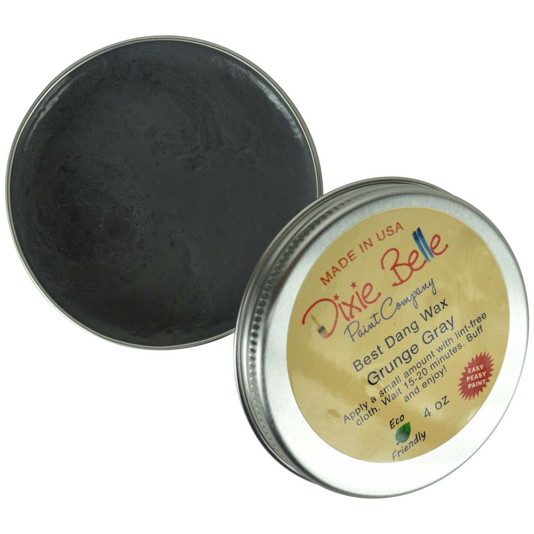 Dixie Belle Best Dang Wax - 4 oz. Grunge Gray - NEW