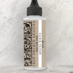 IOD - Iron Orchid Designs - Decor Ink - MIXING WHITE - 2 oz.
