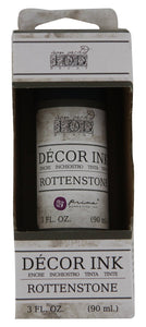 IOD - Iron Orchid Designs - Decor Ink - Rottenstone - 3 oz. Retired