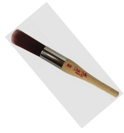 Dixie Belle Paint Brush -  Round Small (RS) Brush with Synthetic Bristles - 3/4