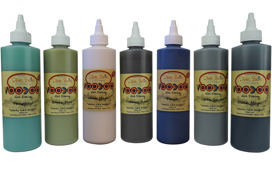 Dixie Belle VOODOO GEL STAIN (Water-based) - NEW