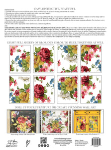 IOD - Iron Orchid Designs - Decor Transfer - WALL FLOWER PAD - New Format