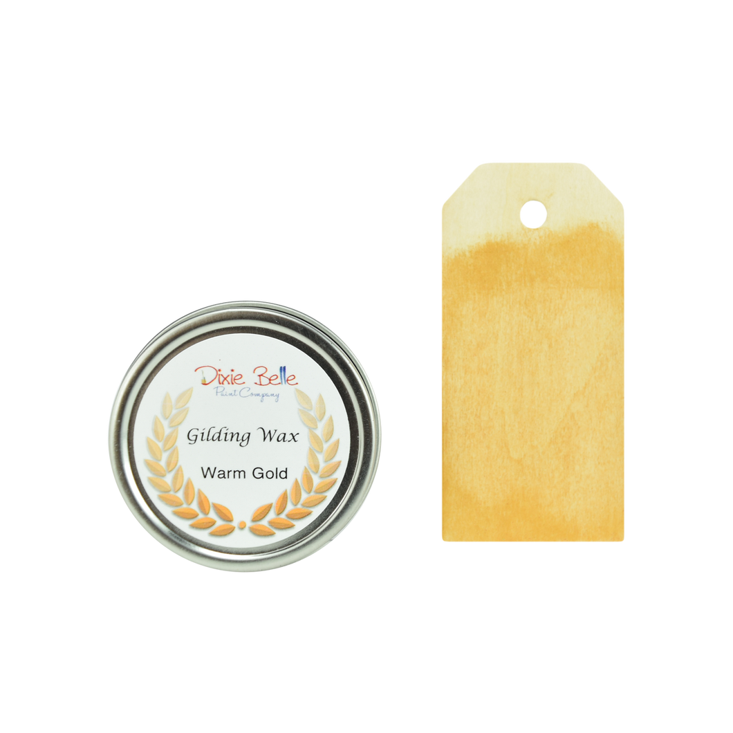 Dixie Belle Gilding Wax - WARM GOLD - NEW