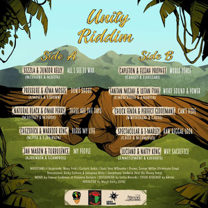 "May.B Unity present ""Unity Riddim"" (version vinyle)"