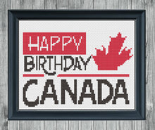 Load image into Gallery viewer, Oh Canada Full Series: Counted Cross Stitch Pattern and Kit