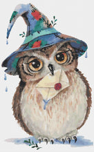 Load image into Gallery viewer, Love Letter Owl: Counted Cross Stitch Pattern and Kit