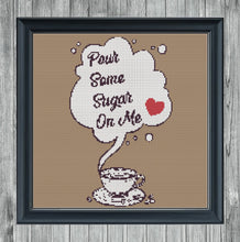 Load image into Gallery viewer, Sugar On Me: Counted Cross Stitch Pattern and Kit - Stitch Wit