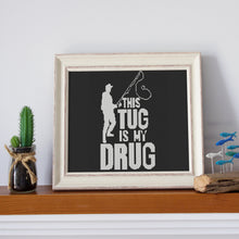 Load image into Gallery viewer, Tug Is My Drug: Counted Cross Stitch Pattern and Kit