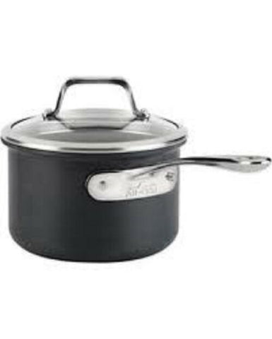 All-Clad B1 Hard Anodized Nonstick 2 qt. Saucepan with Lid