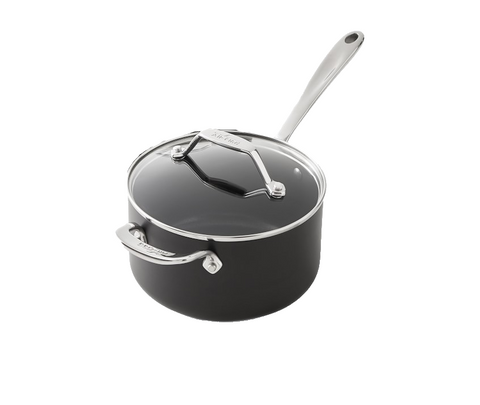 All-Clad Essentials Nonstick 2.5-qt Sauce Pan with Lid
