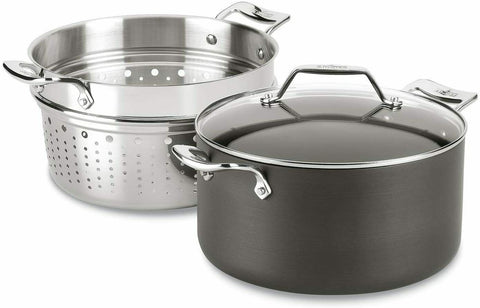 All-Clad H911S374 Essentials Nonstick 7-qt Multipot with insert,
