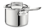 All-Clad SD55202 D5 Polished 5-Ply Bonded 2-qt sauce Pan with lid