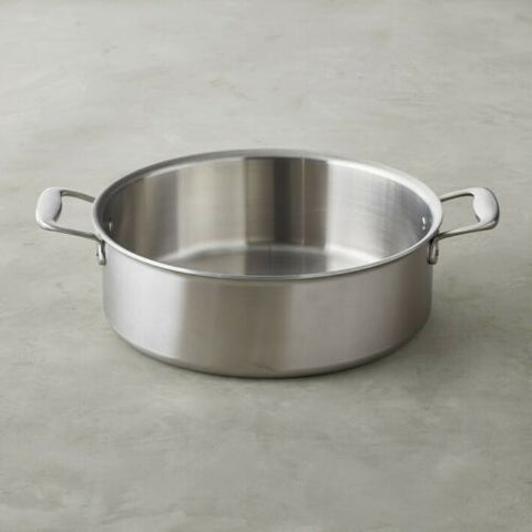 All-Clad TK™ 8-Qt. 5-Ply Stainless-Steel Tall Rondeau with All-clad Standard lid