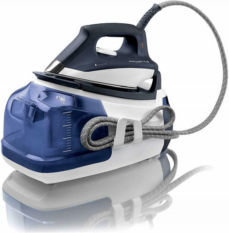 Rowenta DG8510 Perfect Steam Station 1750-Watt Energy 400 Hole Soleplate.