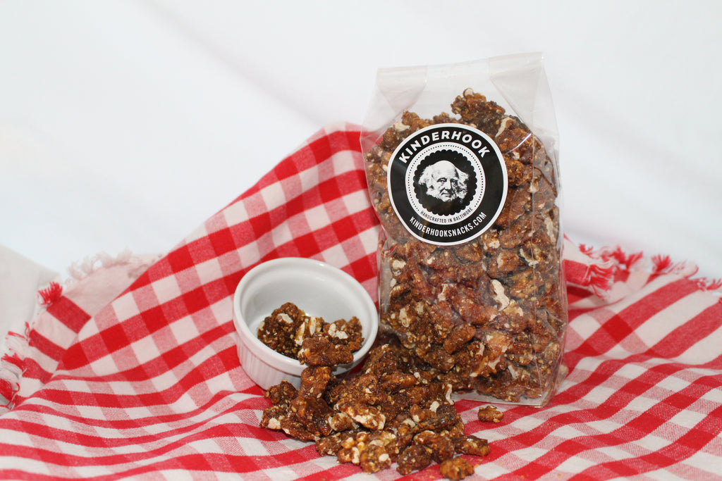 Rosemary Brown Sugar Walnuts