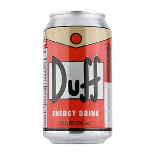 Duff - Orange Energy Drinks