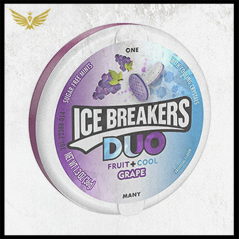 Ice Breakers Duo Fruit + Cool Grape
